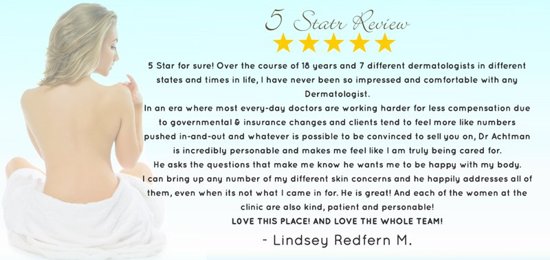 5 star review by Lindsey Redfern M.