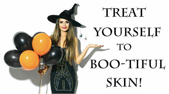treatment your self to  Boo-tiful Skin, DSA Dermatology, Plano