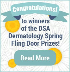 Winner of the Door Prize from the DSA Dermatology Spring Fling